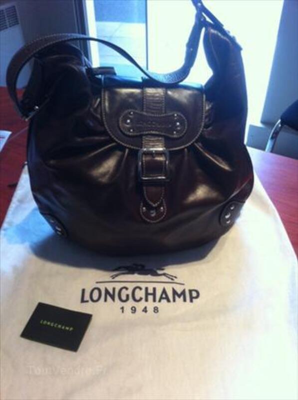 Sac Longchamp Collection IDOLE Couleur Chocolat 56246921