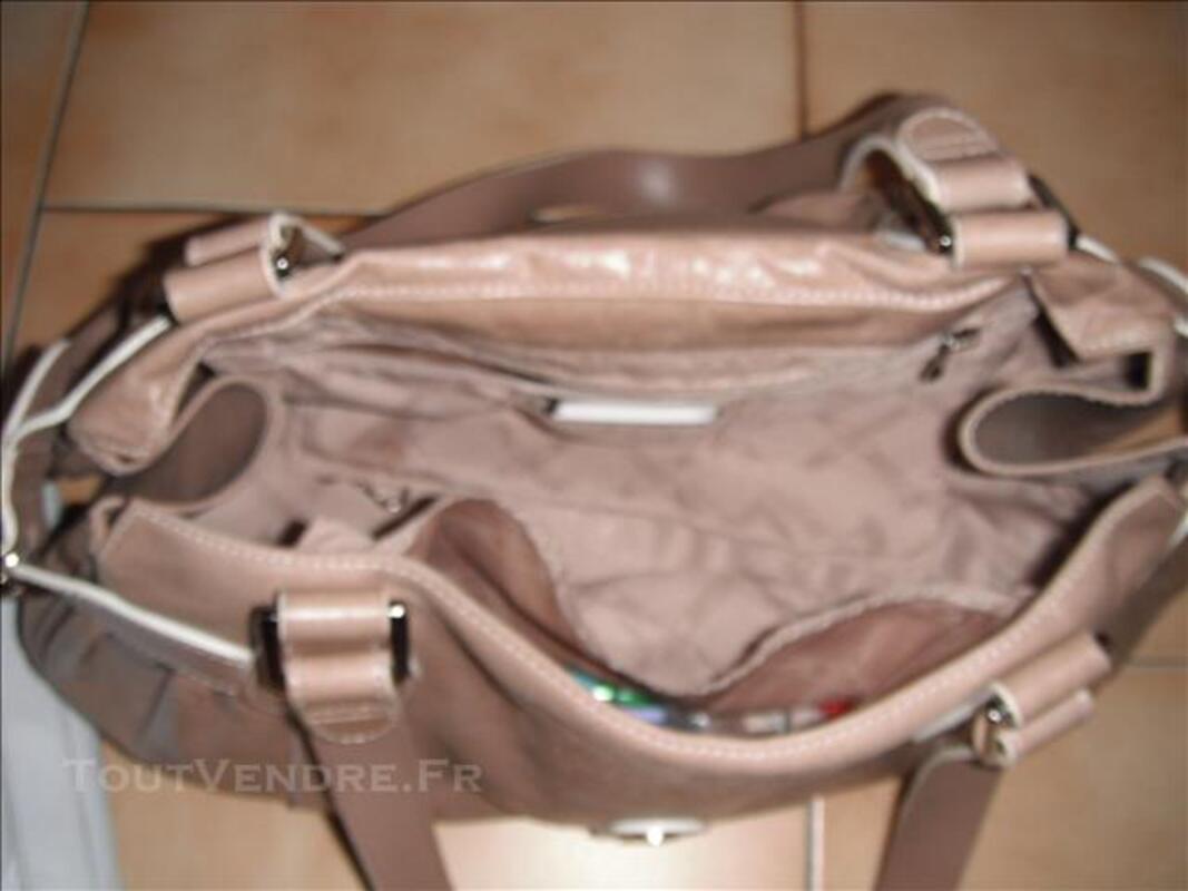 Sac longchamp cuir beige 78095109