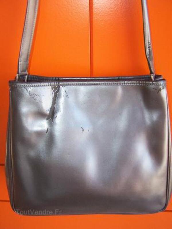 Sac longchamp gamme roseau gris métal 89555592