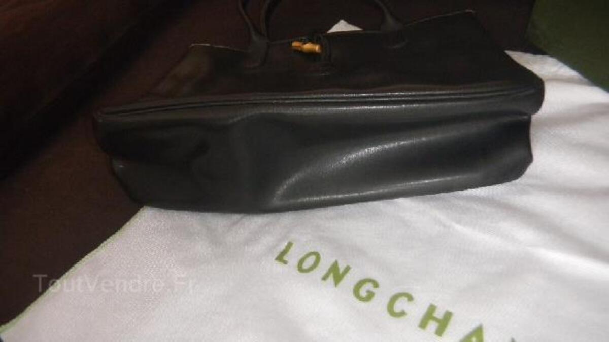Sac LONGCHAMP Noir ROSEAU Doré 102806225