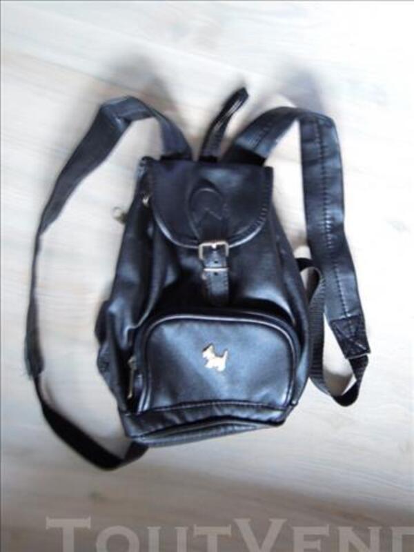 Sacoche en cuir véritable noir - Chipie 85701275