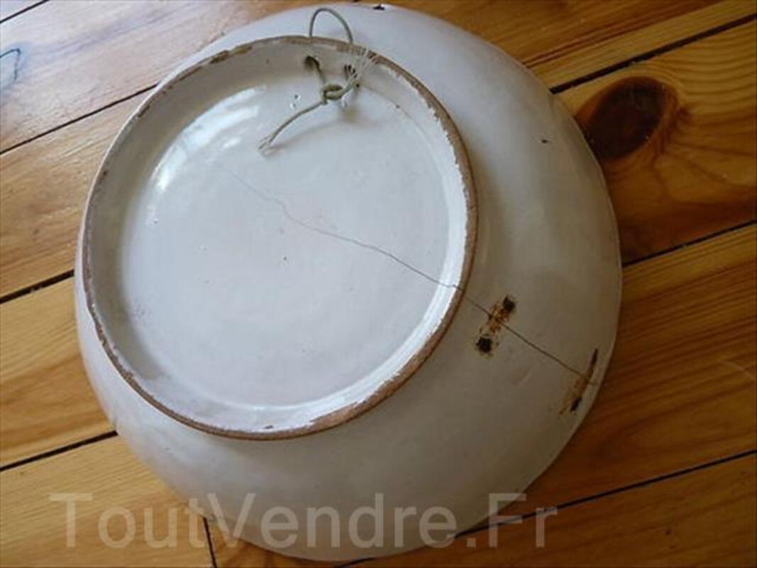 Saladier en faïence. Est de la France XIXe siècle 88248323