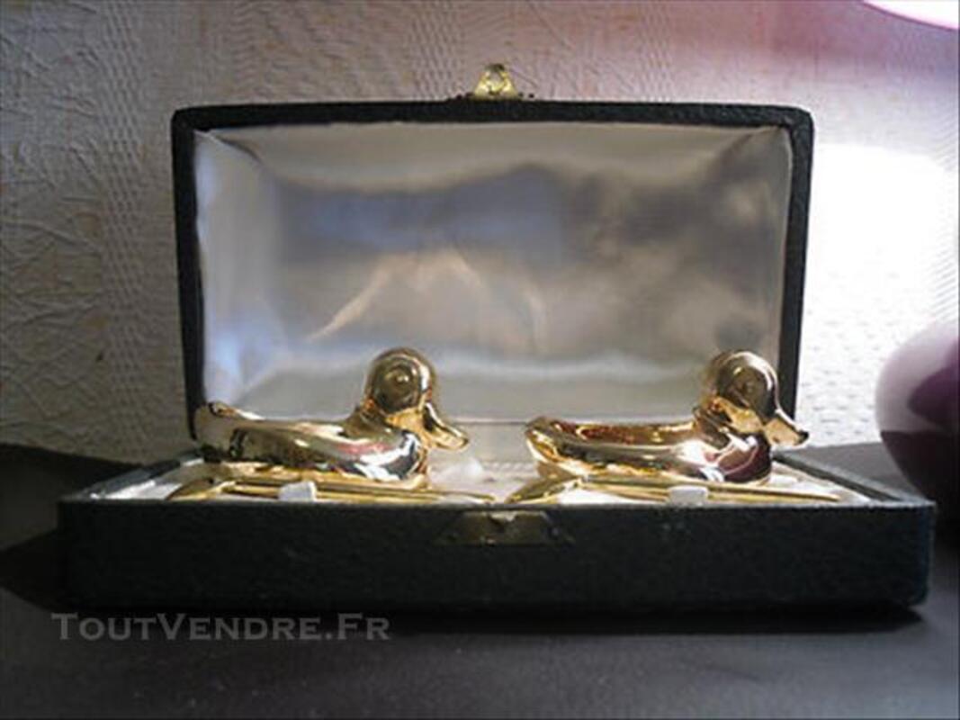 Salerons porcelaine Limoges forme canard 85967239