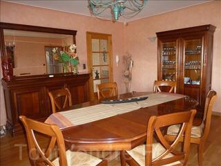 Salle à manger en merisier style Louis Philippe