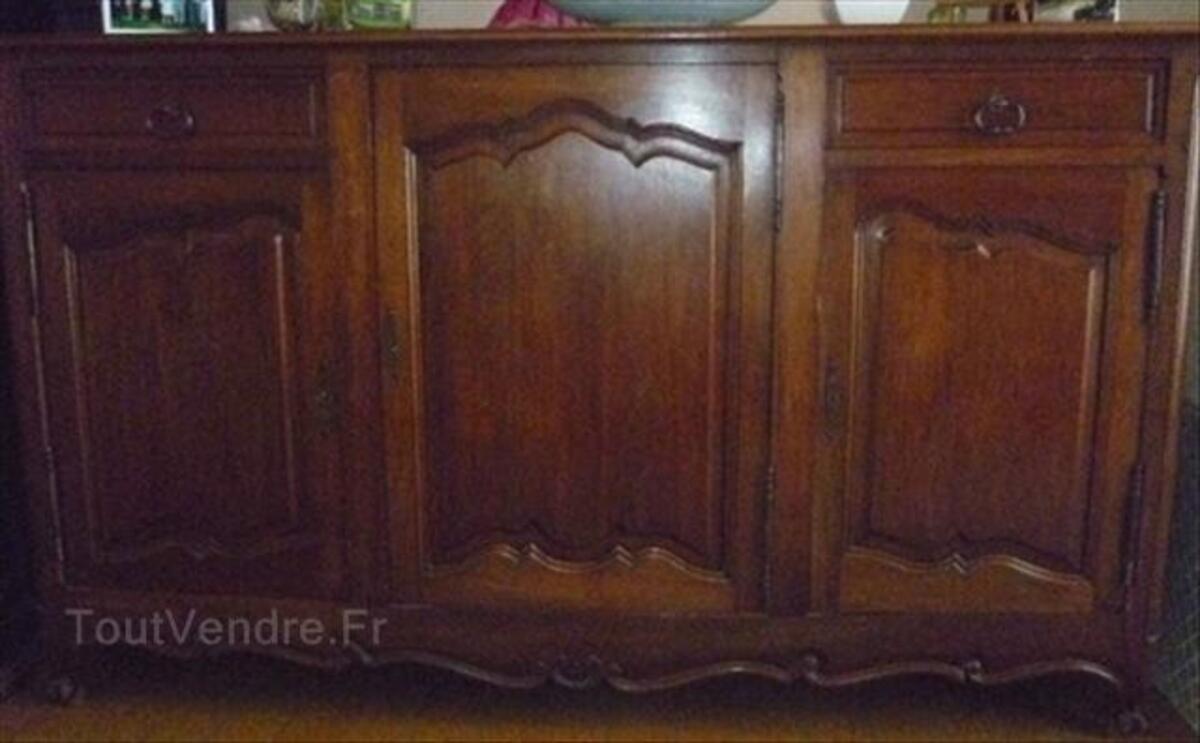 Salle à manger en noyer - Style Louis XV - Régence 54443714