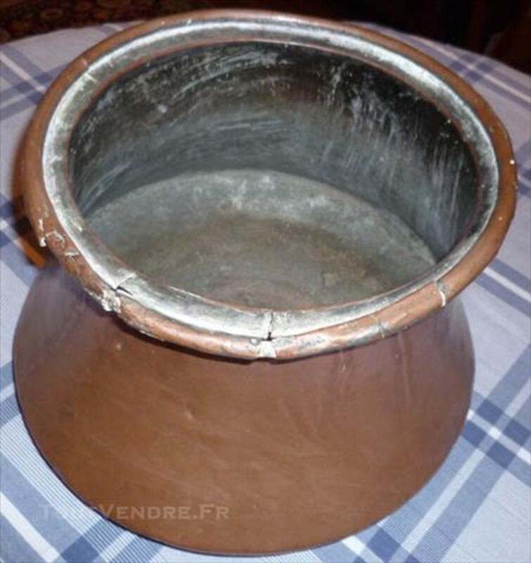 SALOIR ou Réserve à Eau cuivre rouge XIXème 82672606