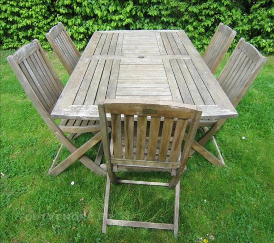 Salon de jardin en bois exotique 74016464
