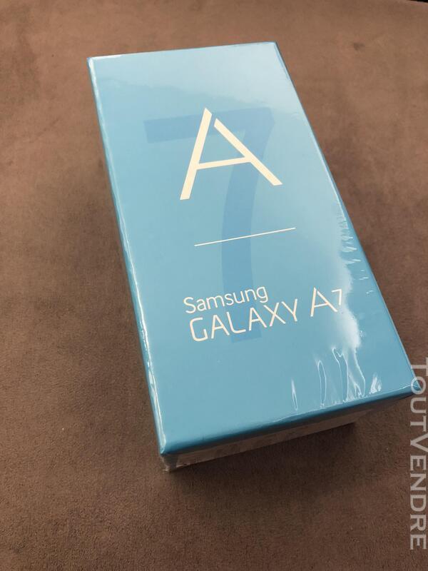 Samsung Galaxy A7 Noir Neuf emballé 369393796