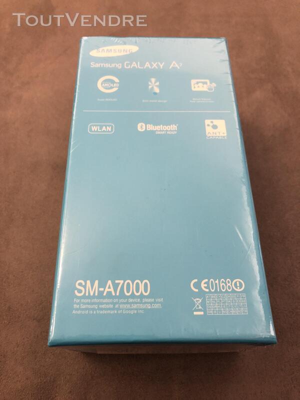 Samsung Galaxy A7 Noir Neuf emballé 369394006