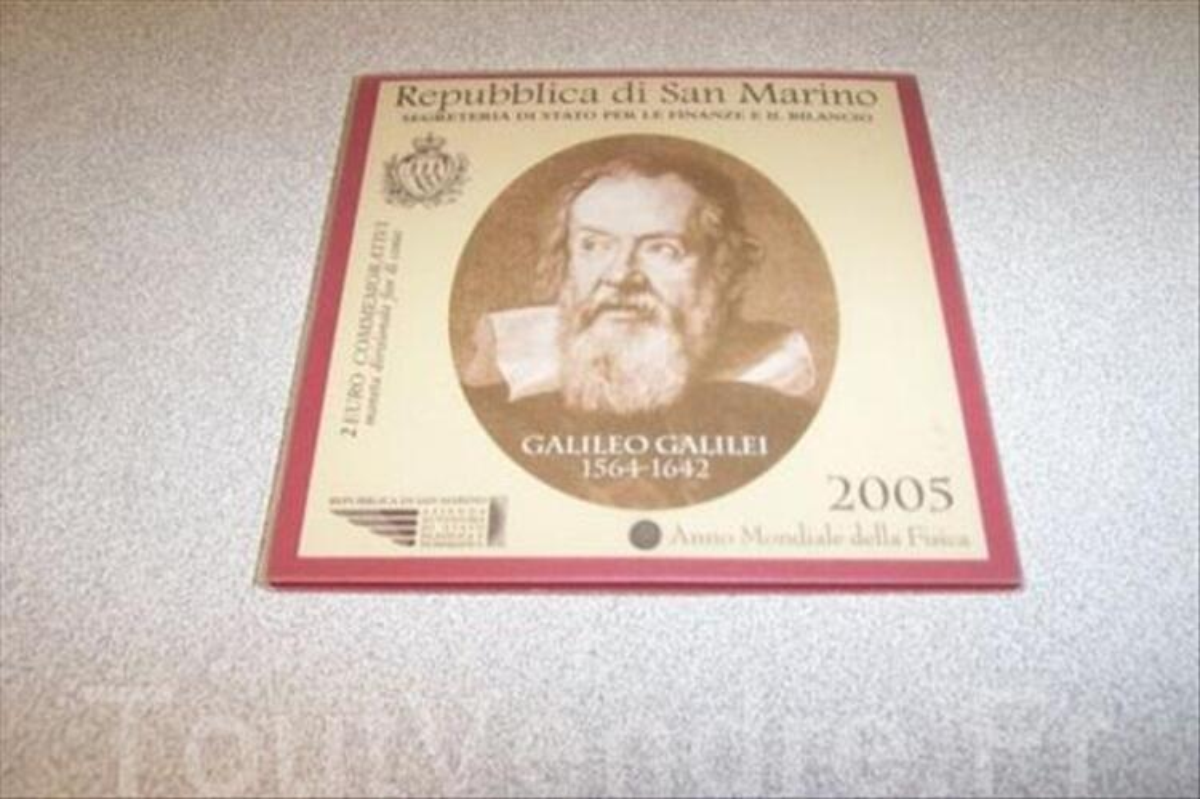 SAN MARIN 2005 - 2 euros coffret GALILEI 56259806
