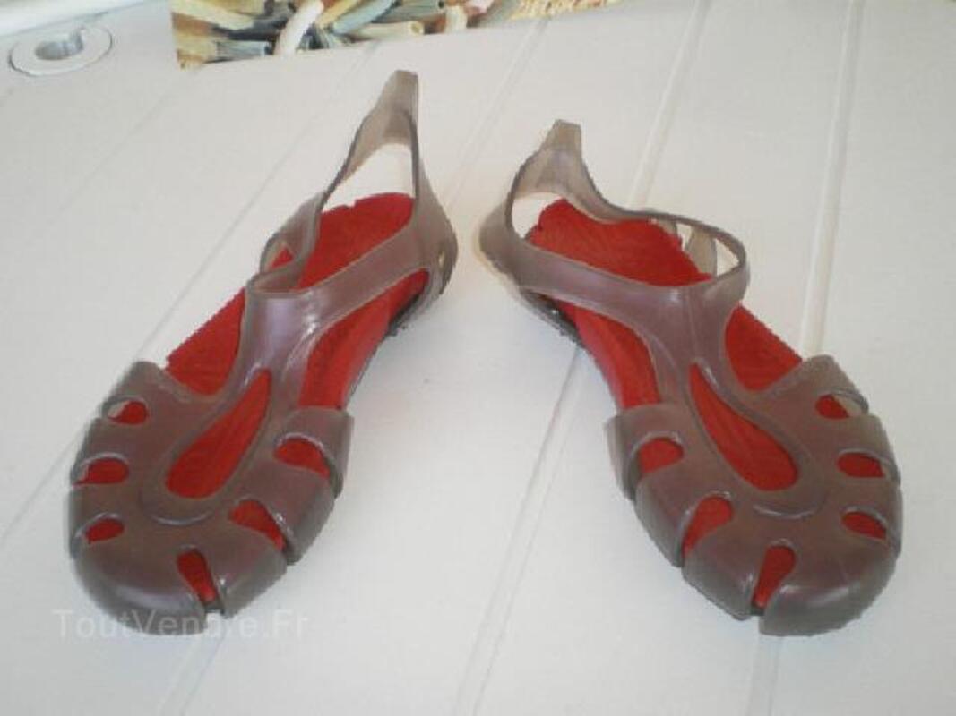 Sandale femme plage ou sport aquatique Tribord 90498526