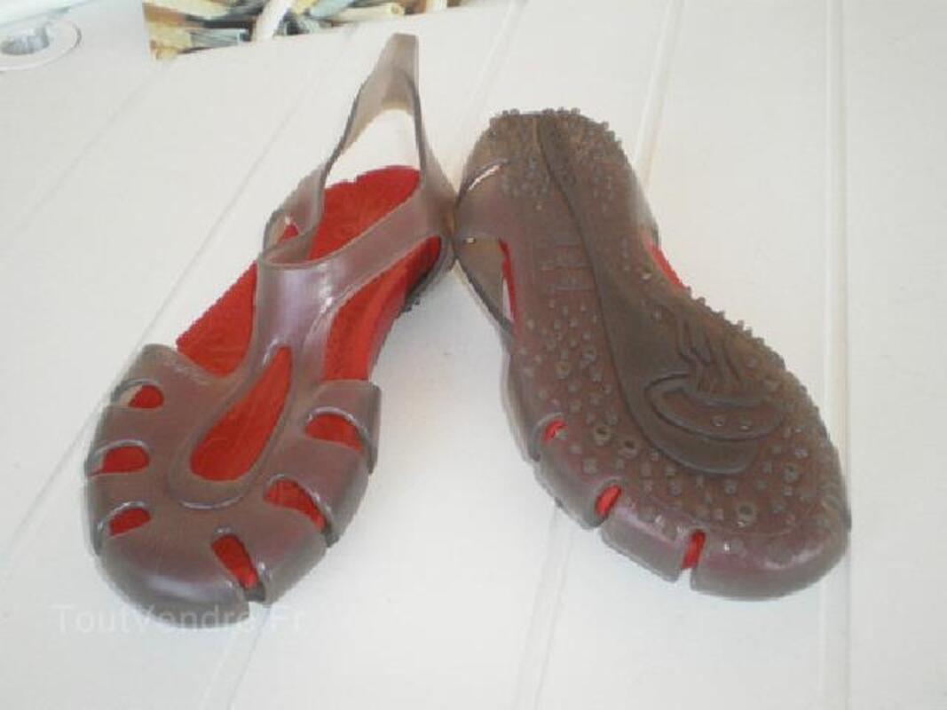 Sandale femme plage ou sport aquatique Tribord 90498527