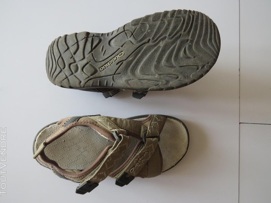 Sandales de randonnée - Quechua P 30 - TBE 372802975