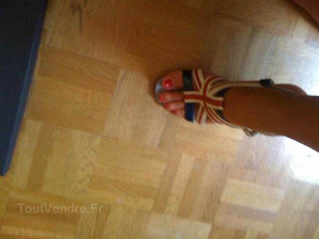 Sandales drapeau anglais Michel PERRY T. 38 94051435