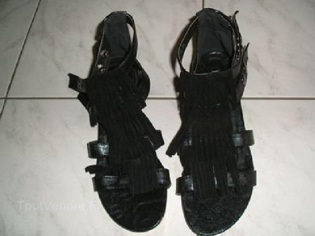 Sandales tropeziennes t38 noires 103102617