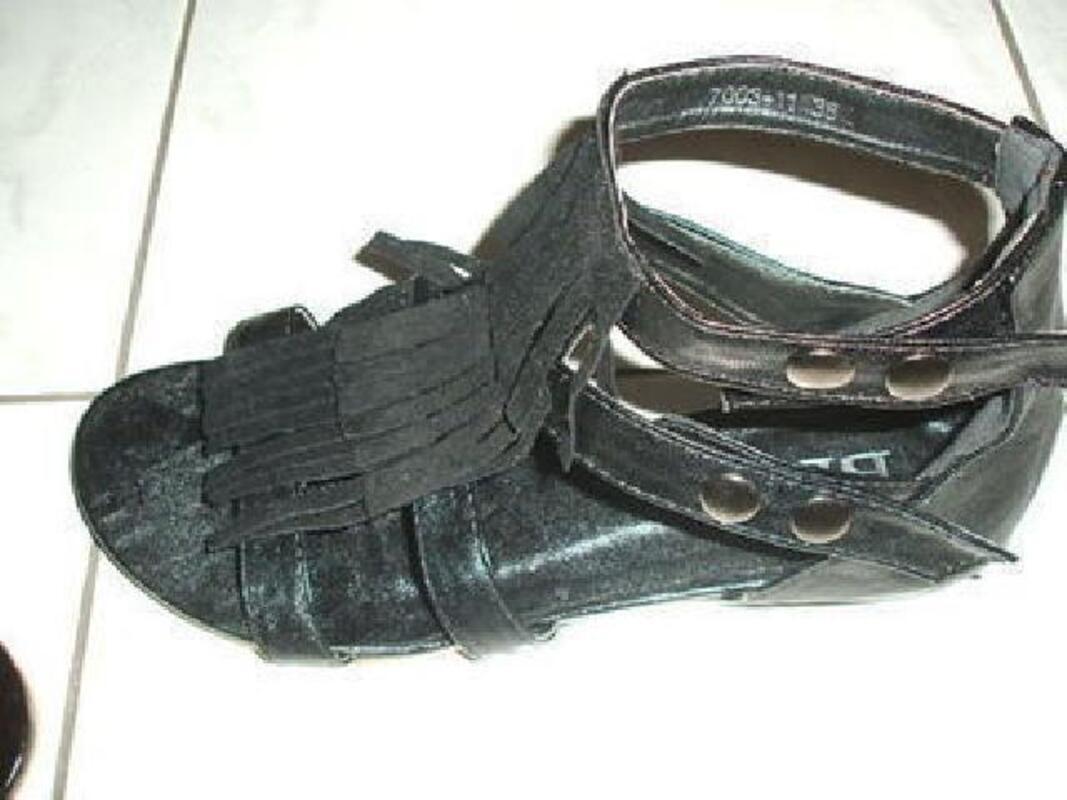 Sandales tropeziennes t38 noires 103102619