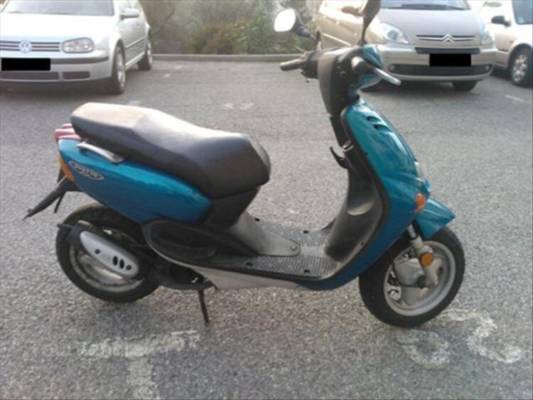 Scooter 50 MBK Ovetto bleu 56243204