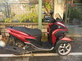 SCOOTER YAMAHA 125 MC3 ROUGE