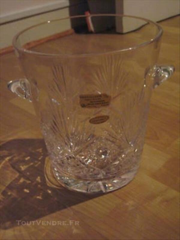 Seau à Champagne, véritable cristal de Baccarat 77435744