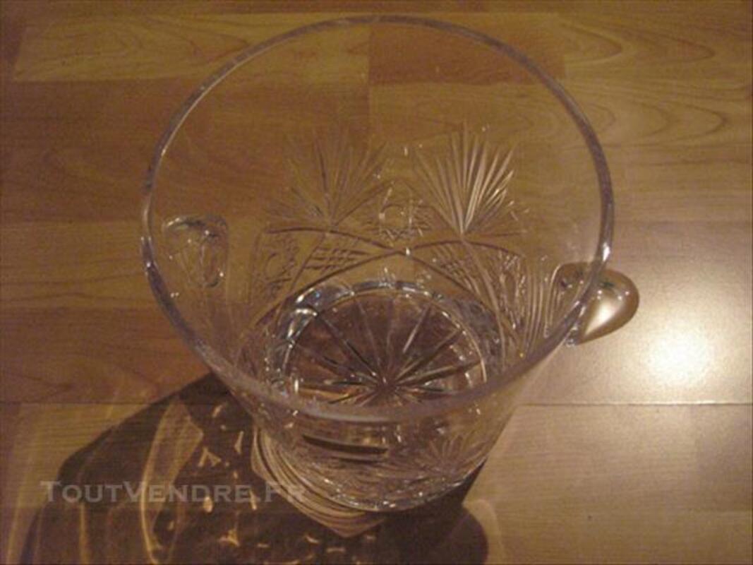Seau à Champagne, véritable cristal de Baccarat 77435745