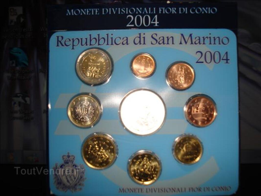 SERIES EUROS de SAN-MARIN(2004,2005,2006,2007,2008) 4134720