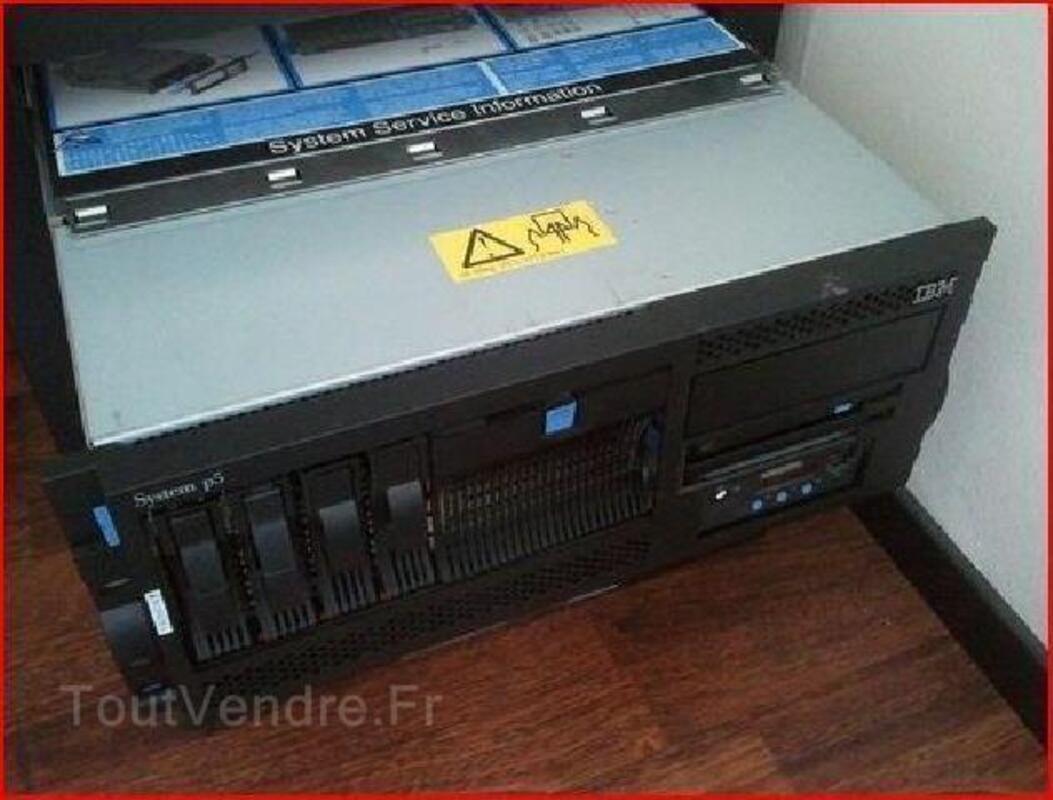 Serveur IBM 9133-55A Power5+ 550 4CPU 16GB 104939655