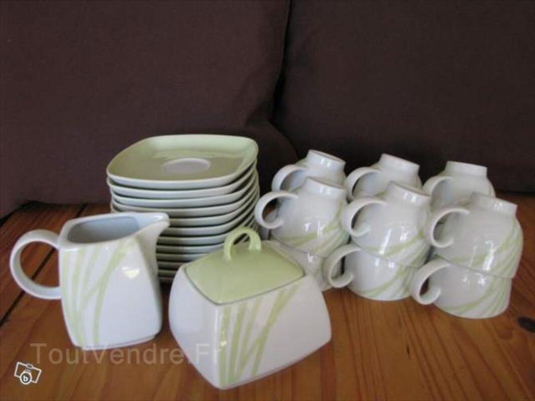 Service à café 14 pièces - Porcelaine Seltmann 93949226
