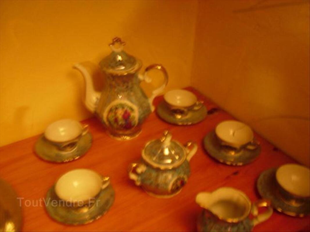 Service à café en porcelaine de limoges 56440822