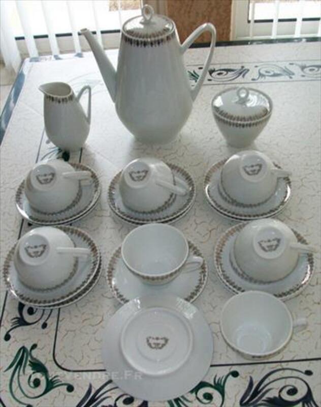 Service à Café en véritable porcelaine de Limoges 76863009