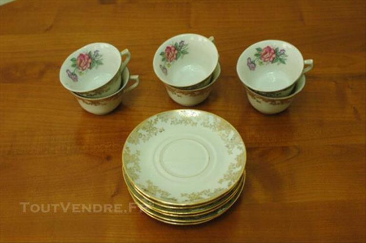 Service à café porcelaine de Limoges 82547858