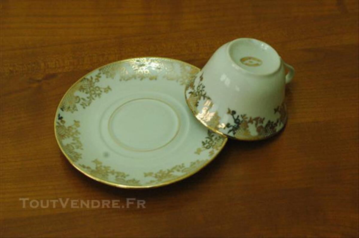 Service à café porcelaine de Limoges 82547859