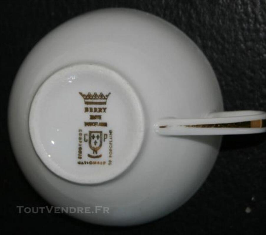 Service à café porcelaine du Berry 85577979