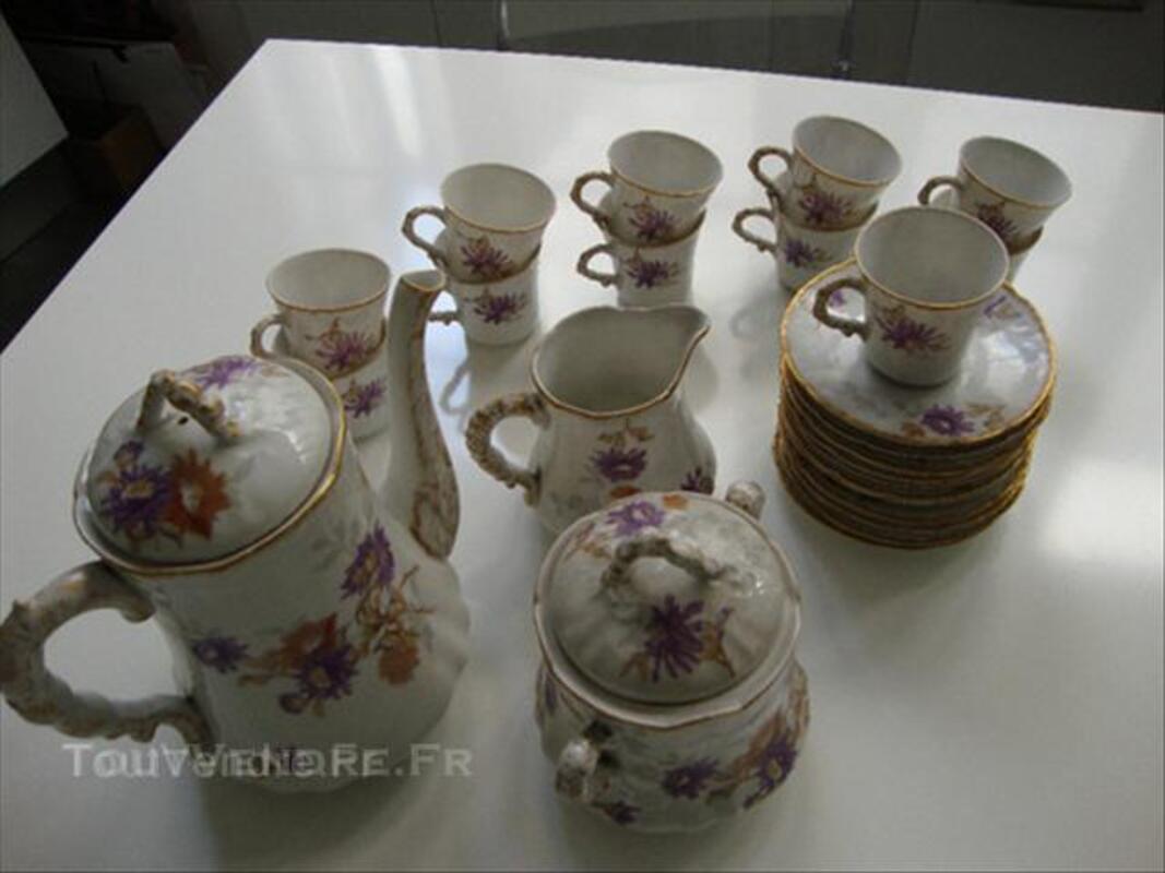 Service à café porcelaine Limoges fin 19è-début 20è 45537231