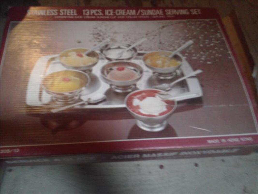 Service à dessert – coupelles à glace 64801319