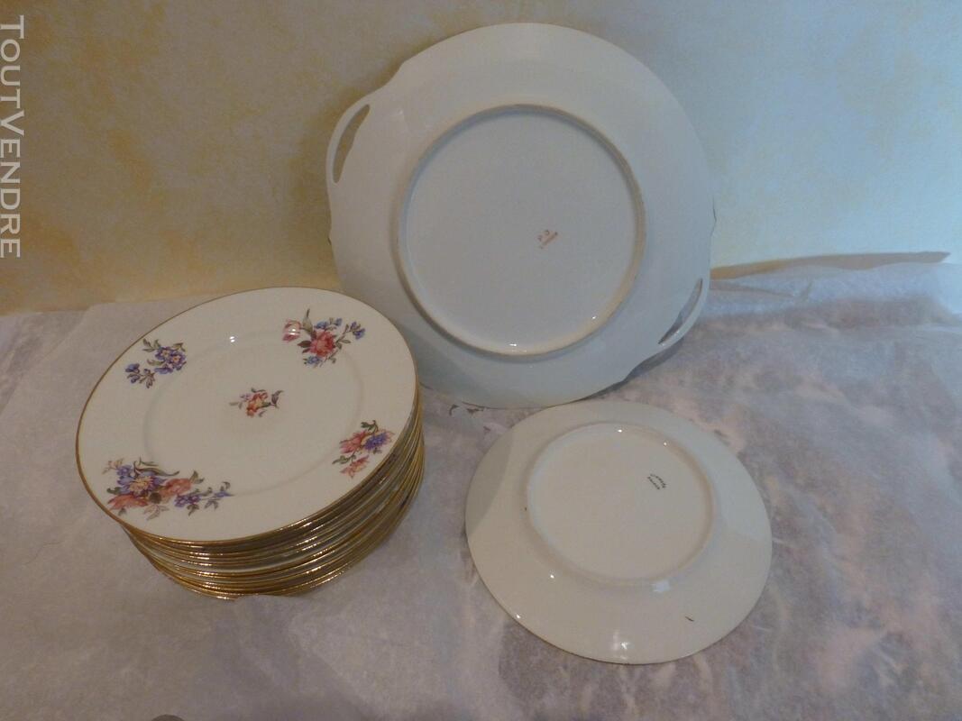 Service à dessert porcelaine P.D. 150461900