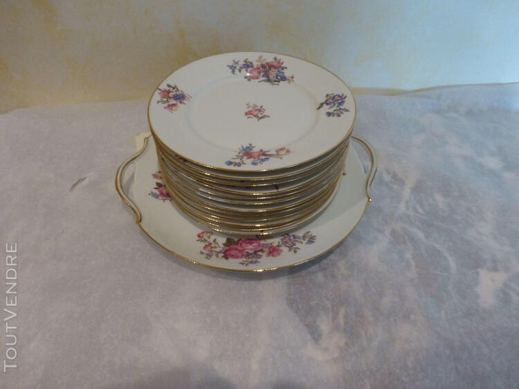 Service à dessert porcelaine P.D. 150462011