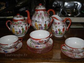 Service à thé Japonais ancien en porcelaine fine 17€