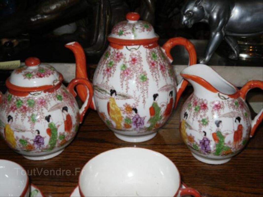 Service à thé Japonais ancien en porcelaine fine 17€ 54672822