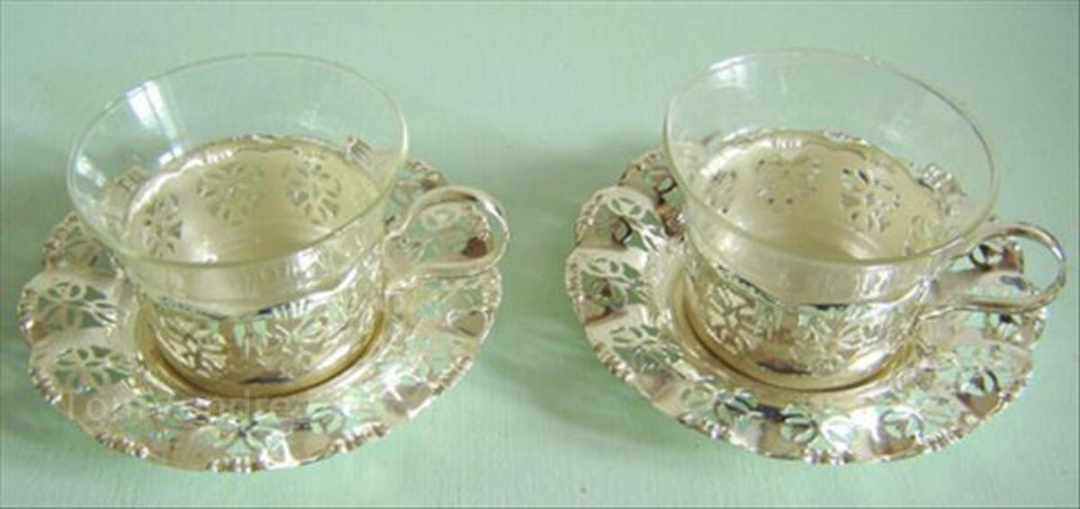 Service à thé ou à café en métal argenté 87058992