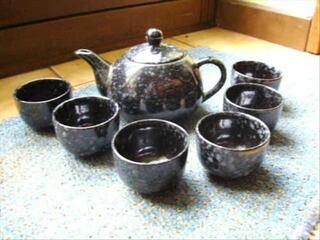 Service à thé style japonnais