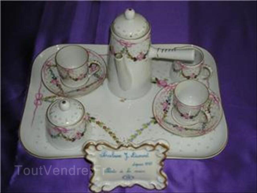 Service chocolatière porcelaine de limoges extra fine 64517513