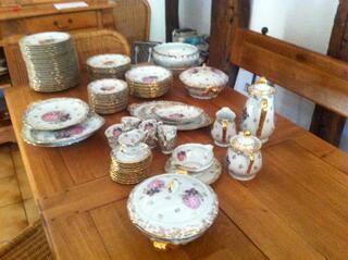 Service complet porcelaine de limoges Marquise