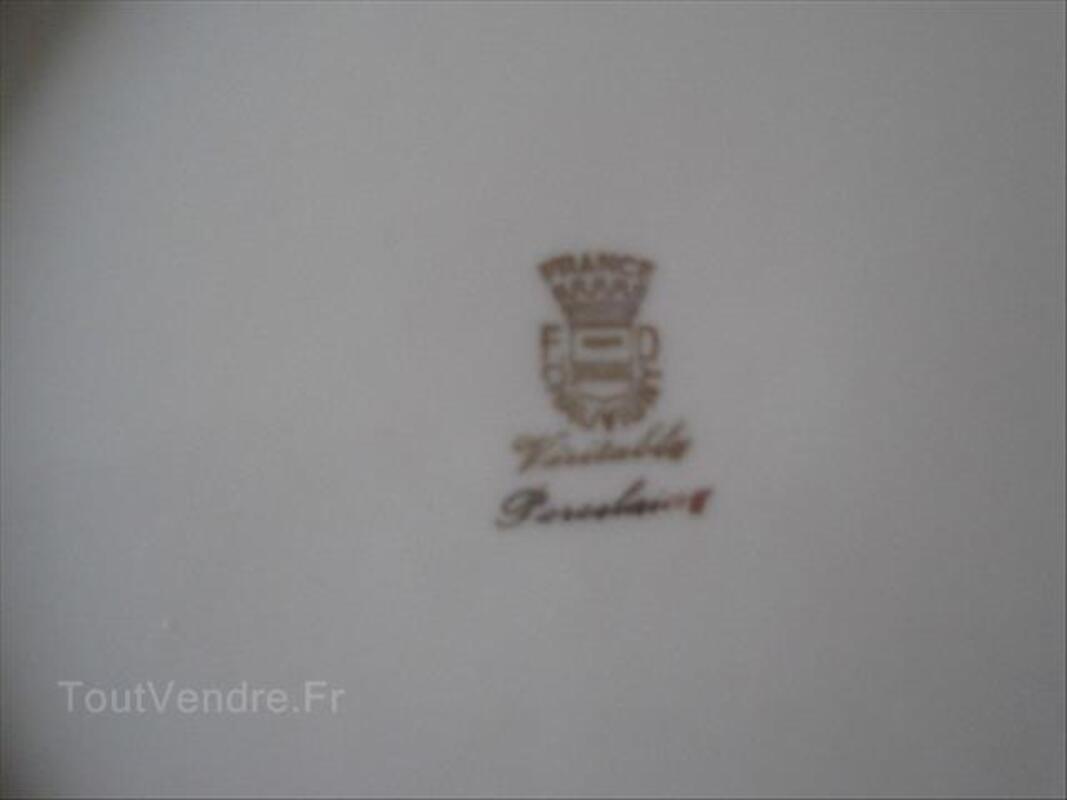 Service de table complet Porcelaine de Chauvigny 87035509