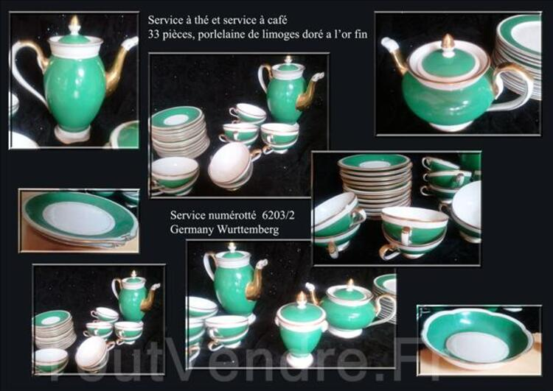 Service de table, porcelaine; ANCIEN 67254380