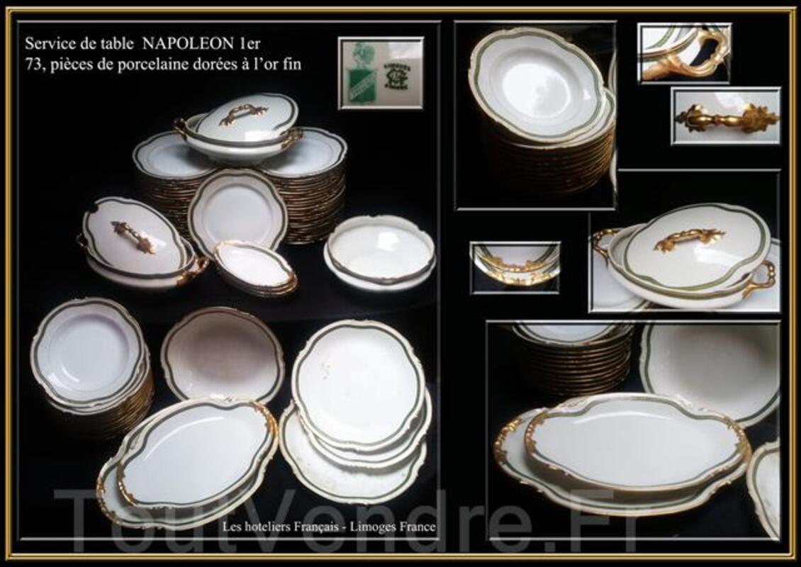 Service de table, porcelaine; ANCIEN 67254382