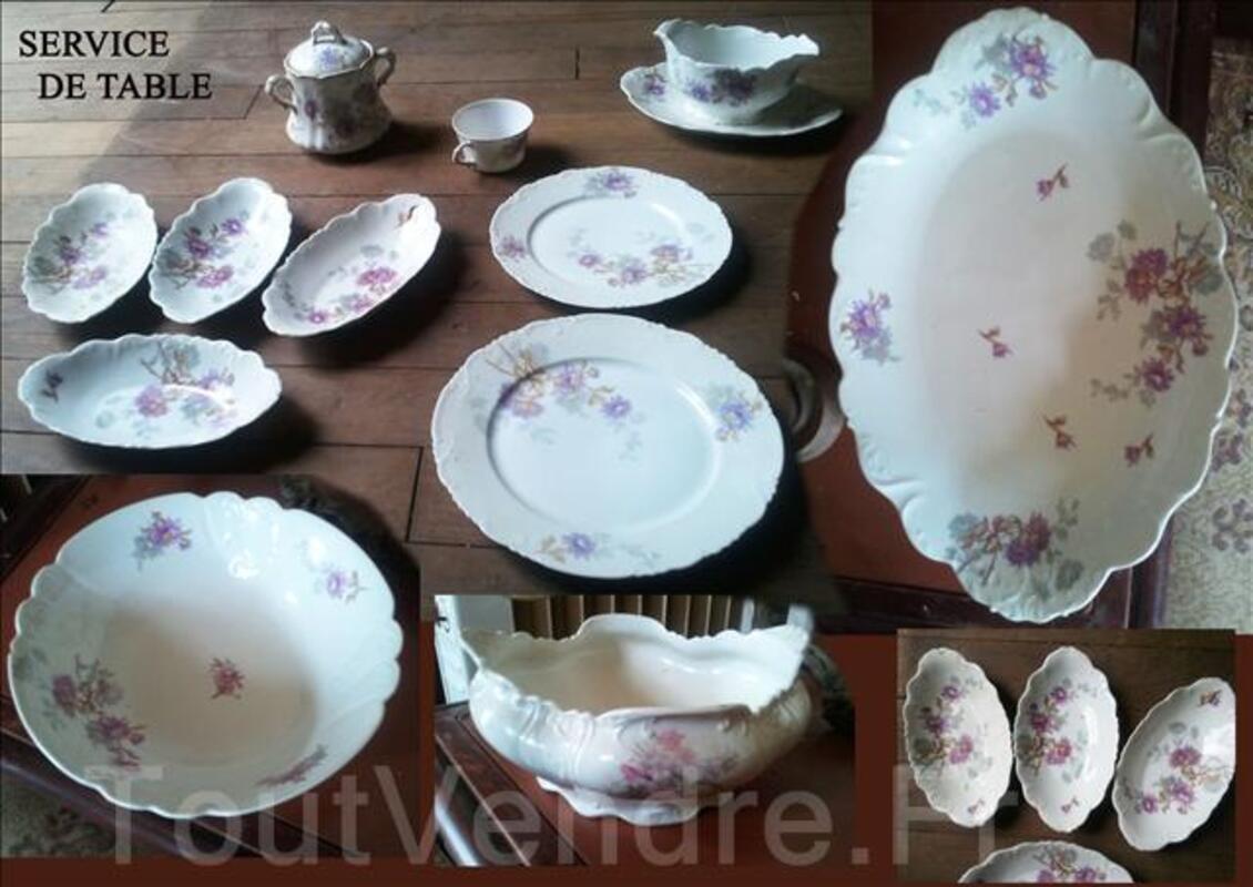 Service de table, porcelaine; ANCIEN 67254386