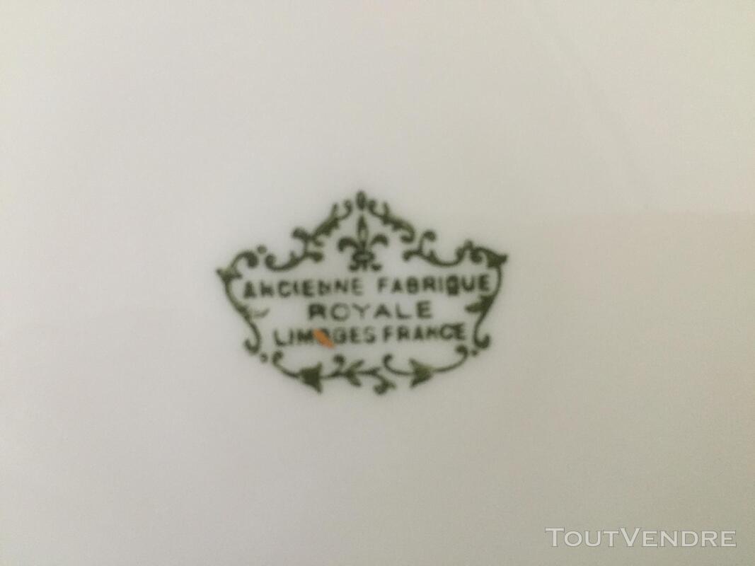 SERVICE DE TABLE PORCELAINE DE LIM(ANCIENNE FABRIQUE ROYALE) 202973437