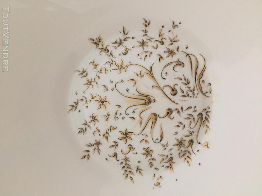 SERVICE DE TABLE PORCELAINE DE LIM(ANCIENNE FABRIQUE ROYALE) 202973464