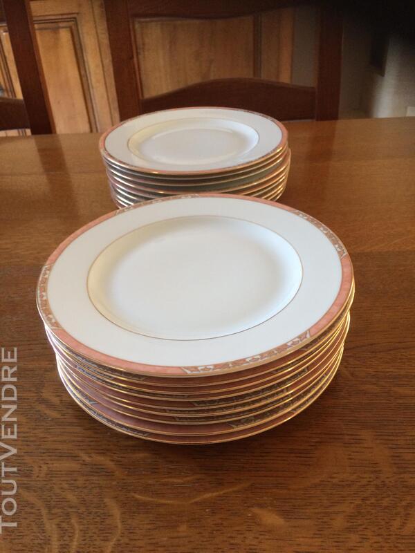 Service de table porcelaine de Limoges P.Deshoulières 619360282