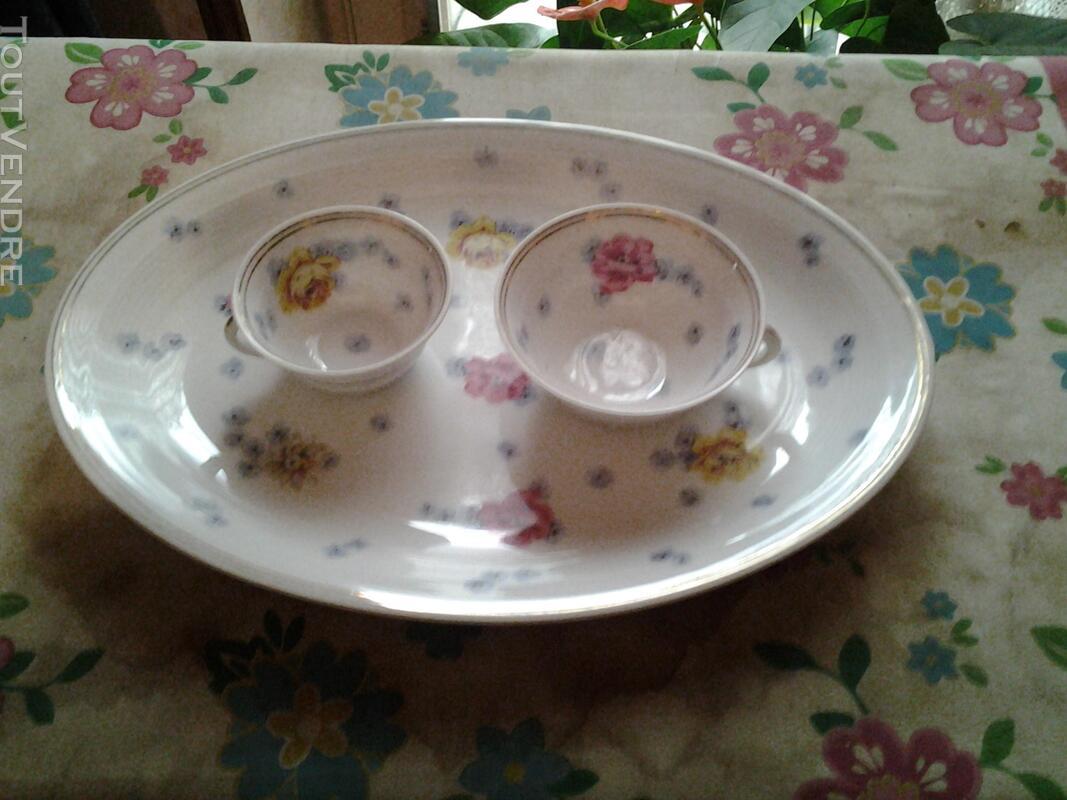 Service de table porcelaine ( fin XVIII ) CHARLES AHRENFELDT 146009010